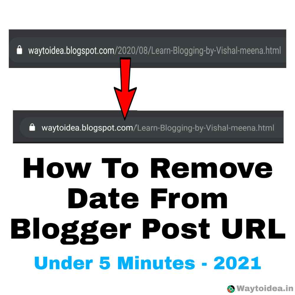how to remove date from blogger post url - 2021, remove date from blogger post URL, make Blogger Post URL like WordPress post URL